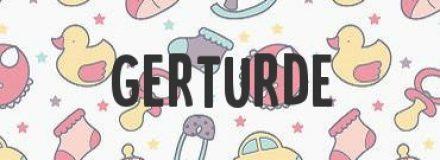 Gerturde